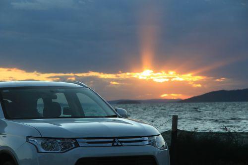 Mitsubishi,saulėlydis,svetimšalis