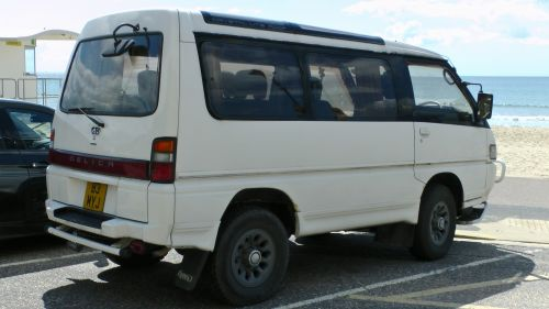 Mitsubishi, Delica, automobilis, van, kemperis, kemperis, 4wd, MPV, 4x4, keturi, ratas, vairuoti, mitsubishi delica 4wd MPV pusė