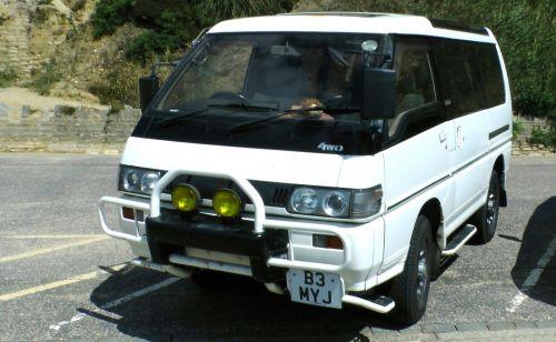 Mitsubishi, Delica, automobilis, van, kemperis, kemperis, 4wd, MPV, 4x4, keturi, ratas, vairuoti, mitsubishi delica 4wd mpv