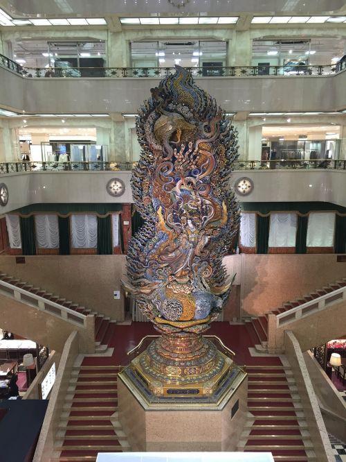 Mitsukoshi ltd,smūgis,laiptai