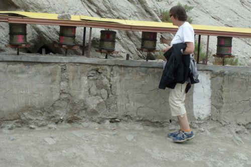 buda, malda, ratai, Himalajus, Ladakh, vienuolynas, maldos ratai