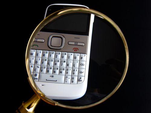 mobilus,natel,padidinamasis stiklas,duomenų paieška,Paieška,rasti