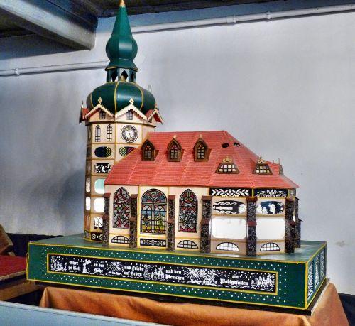 modelio bažnyčia,šešėlių žaidimas,sebnitz