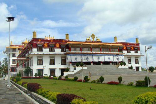vienuolynas,pastatas,architektūra,drepung gomang,religinis,žinomas,budistinis,religija,kultūra,budizmas,tibetietis,atsiskaitymas,mundgod,Karnataka,Indija