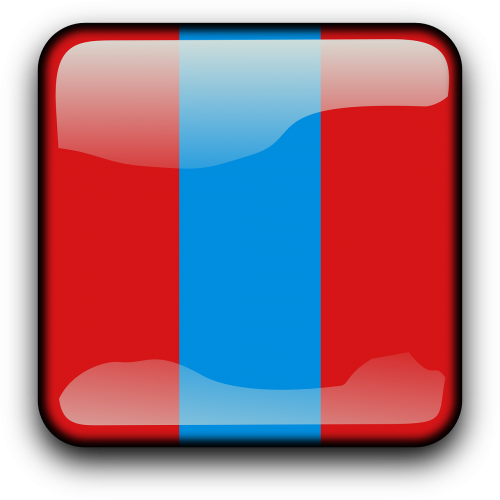Mongolija,vėliava,Šalis,Tautybė,kvadratas,mygtukas,blizgus,nemokama vektorinė grafika