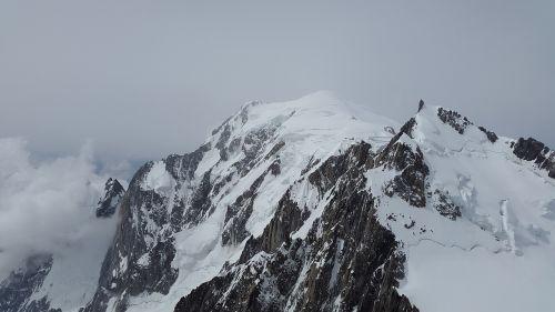 Mont Blanc, Mont Maudit, Ledynas, Aukšti Kalnai, Kalnai, Alpių, Alpinizmas, Chamonix, Šaltas, Aukštybinių Kalnų Kelionė, Serija 4000, Sniego Kalnai