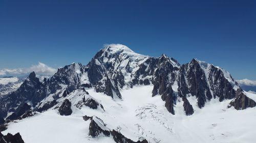 mont blanc,mont maudit,ledynas,aukšti kalnai,kalnai,Alpių,alpinizmas,Chamonix,šaltas,aukštybinių kalnų kelionė,serija 4000,sniego kalnai