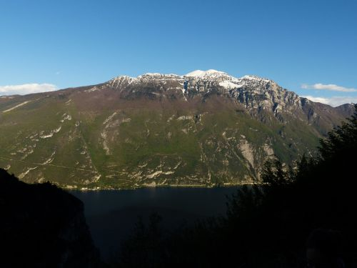 Aukštas Kalnas, Monte Altissimo Modenoje, Kalnų, Garda, Garda Kalnai, Monte Baldo Tvirtas, Monte Baldo, Summit, Snowy