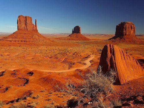 paminklo slėnis,bokštai,akmeniniai bokštai,lipti,kietas,aukštas,erozija,smėlio akmuo,raudona,usa,Utah,gamta,Rokas,Colorado,Navajo,Arizona,toli,kelias