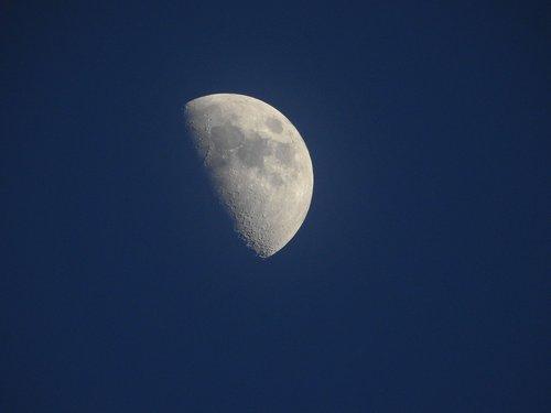 mėnulis, dangus, astronomija, Luna