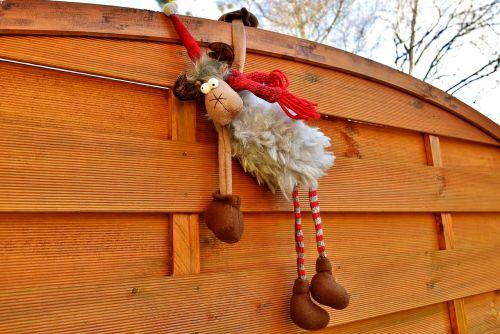 briedis,Kalėdos,santa skrybėlė,priklausyti,juokinga,figūra,apdaila,deko,mielas