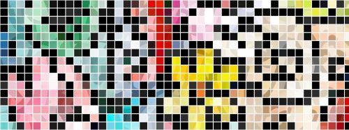 reklama, abstraktus, fonas, dizainas, kūrybingas, modelis, meno, šiuolaikiška, formos, plytelės, plytelėmis, mozaika, mozaikinė reklama