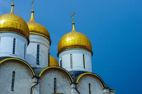 Maskva, cateral, Rusija, Religija, kupolas, stačiatikių, auksas, Katedros kupolas
