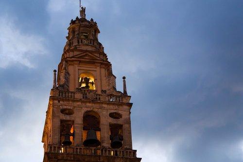 mečetė, Kordoba, Ispanija, katedra, Cordoba ISPANIJA, Andalūzija