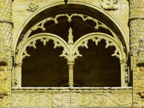 Mosteiro Dos Jerónimos, Jeronimo Vienuolynas, Langas, Belem, Manueline, Pastatas, Unesco Pasaulio Paveldas, Lisbonas, Lisboa, Portugal