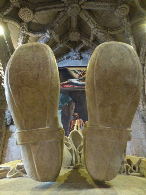 Mosteiro Dos Jerónimos, Jeronimo Vienuolynas, Kapas, Sarkofagas, Belem, Manueline, Pastatas, Unesco Pasaulio Paveldas, Lisbonas, Lisboa, Portugal