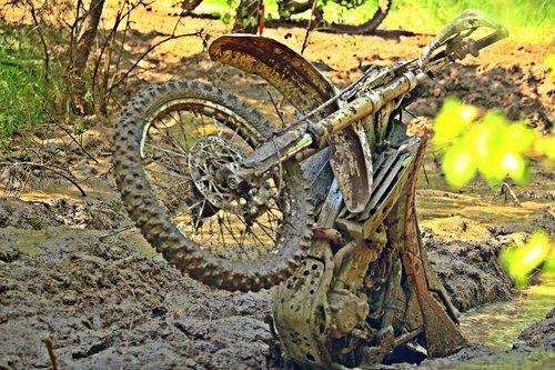 motokroso, purvo, dviratis, purvinas, situacija, Sportas, purvinas, kirsti, motociklas