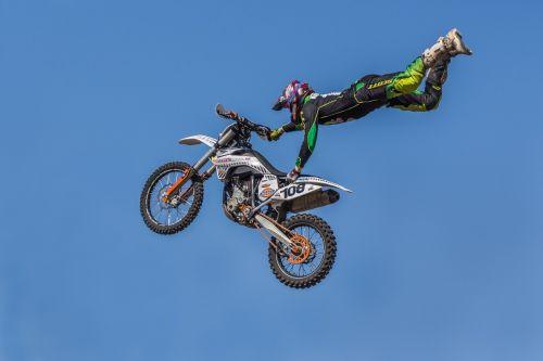 Motociklas, Greitis, Sportas, Eiti Į, Skristi, Pavojingas, Ekstremalus Sportas, Drąsos, Adrenalinas