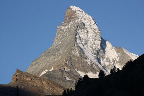 Kalnas, Matterhorn, Zermatt
