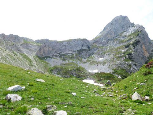 Kalnas, Alpių, Jūrų Alpės, Monte Ciamoussè, Monte Ciamousse