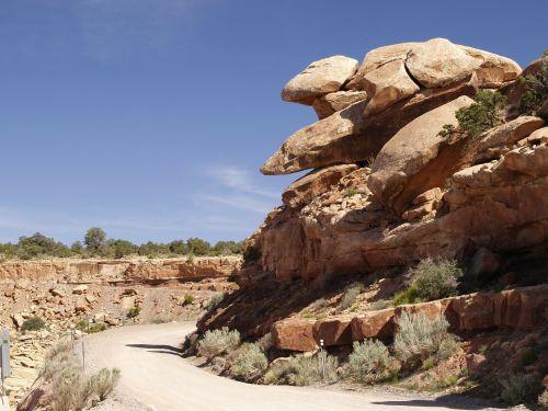 Kalnas, Raudona, Akmenys, Arizona, Usa, Kraštovaizdis, Peizažas, Karštas, Sausas, Dykuma, Uolienų Formavimas, Gamta, Erozija, Pietvakarių Usa