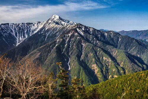 kalnas,Kitadake,Japonija antroji aukščiausia smailė pasislenka tarp sienos,pietų alpėse,Gegužė,Japonija