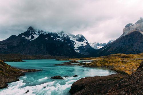 kalnas,Highland,debesis,dangus,aukščiausiojo lygio susitikimas,kraigas,kraštovaizdis,gamta,slėnis,upė,vanduo,akmenys