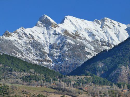 kalnas,snieguotas,žiema,gamta,snieguotas kraštovaizdis,hautes alpes,lauche