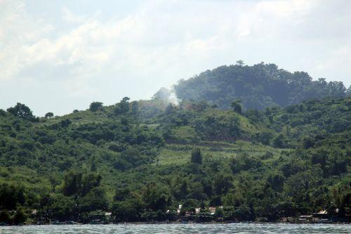 kalnas, žalias kalnas, debesys, gamta, miškas, medžiai, lapai, žalias, aukštas & nbsp, kalnas, didelis & nbsp, kalnas, kalnas 4