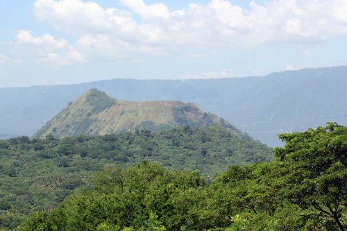 kalnas, žalias kalnas, debesys, gamta, miškas, medžiai, lapai, žalias, aukštas & nbsp, kalnas, didelis & nbsp, kalnas, kalnas 5