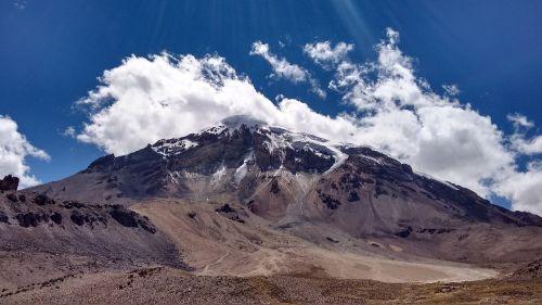 kalnas,Bolivija,dangus