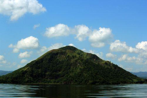 kalnas, žalias kalnas, debesys, gamta, miškas, medžiai, lapai, žalias, aukštas & nbsp, kalnas, didelis & nbsp, kalnas, kalnas ir debesys 3