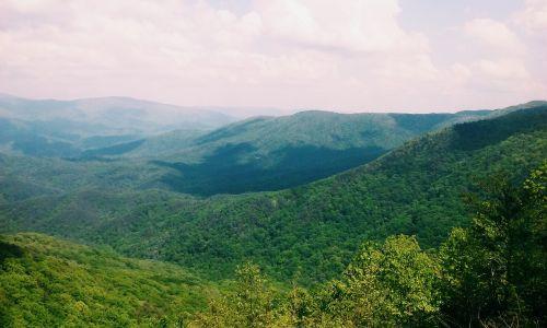 Gruzija, kalnas, žygis, keliautojas, takas, vaizdas, kraštovaizdis, dangus, medžiai, lapai, žalias, gamta, lauke, kalnų peizažas