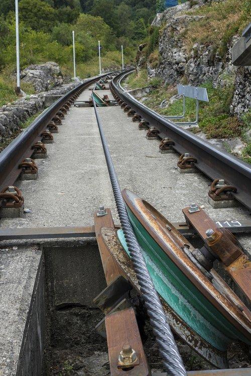 Kalnų Geležinkelio,  Funikulieriumi,  Lynas,  Bėgiai,  Geležinkelio Bėgiai