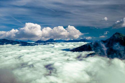 kalnas & nbsp, peržiūra, kalnai, gamta, kraštovaizdis, dangus, mėlynas, peizažas, piko, vaizdingas, lauke, kelionė, aplinka, viršuje, nuotykis, aukštas, Rokas, debesys, sniegas, uolos, rūkas, Alpės, scena, kalnų scena