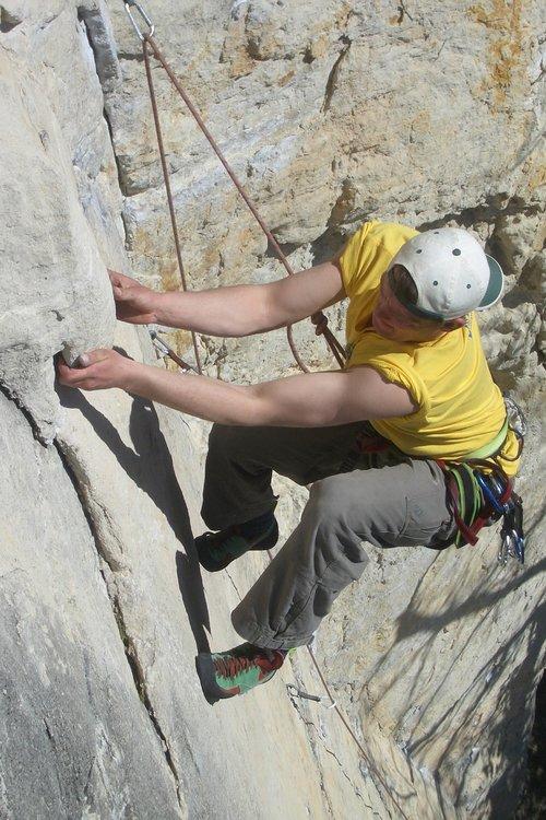 alpinistas, Rokas, lipti