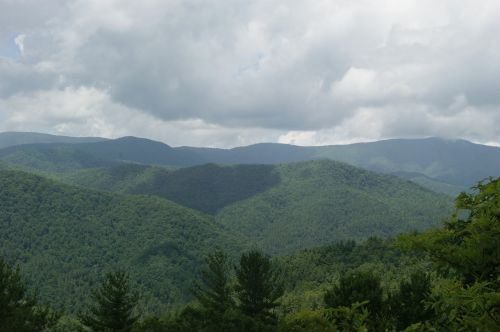 Kalnai, Puikūs Dūminiai Kalnai, Žalias, Dūminis, Puiku, Nacionalinis, Parkas, Tennessee, Miškas, Kraštovaizdis, Apalachianas, Dūminiai Kalnai, Dykuma, Medžiai