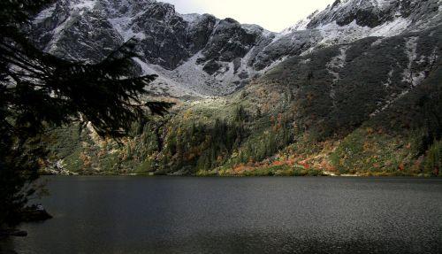 kalnai,vaizdas,tatry,lenkų tatros,kalnų grožis,kraštovaizdis,grožis,gamta