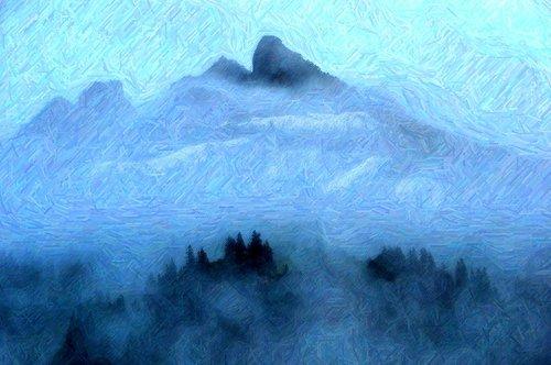 kalnai, kalnų, prieš srovę, Monti, rūkas, rūkas, rūkas, miegoti, svajones, užmigti, milžinas, miręs, Mumija, mumijas, milžinai, tapyba, Tapyba, svajoti, miškas, sąmonės, miškai, debesis, Nemokama iliustracijos