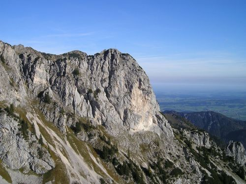 kalnai,Alpių,sebenkopf,Allgäu,akmens siena,lipti,Alpinizmas,bergsport,Ekstremalus sportas