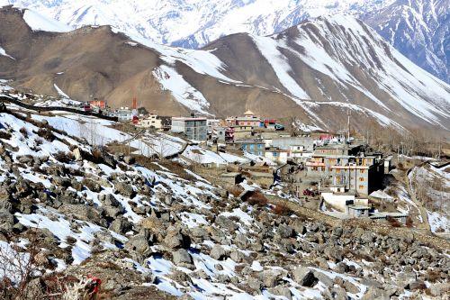 kalnai,kaimas,kalnų kaimas,kalnuose,turizmas,vaizdingas,sniegas,žiema,Hillside,panorama,kaimas,peizažas,Nuotolinis,kaimiškas
