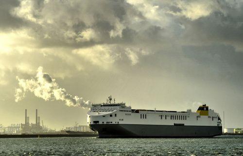 Ms, Celine, Rotterdam, Ro-Ro, Laivas, Laivas, Europoort, Automatinis Paleidimas, Maasvlakte