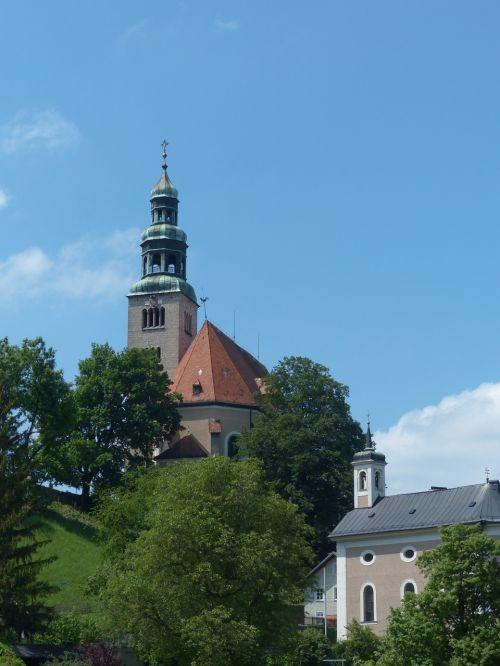 müllner bažnyčia,bažnyčia,garbinimo namai,salzburg,parapijos bažnyčia mülln,Romos katalikų,parapijos bažnyčia,Augusto bažnyčia,mönchberg,priemiestis,mülln,istorinis išsaugojimas,UNESCO pasaulio paveldas