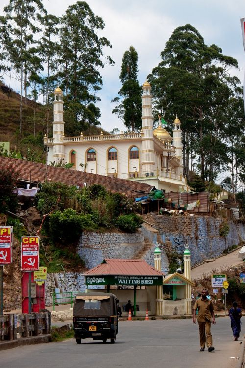 Munnar,mečetė,Indija,miesto gyvenimas,gyventi,gatvių fotografija,Pietų Indija,kerala