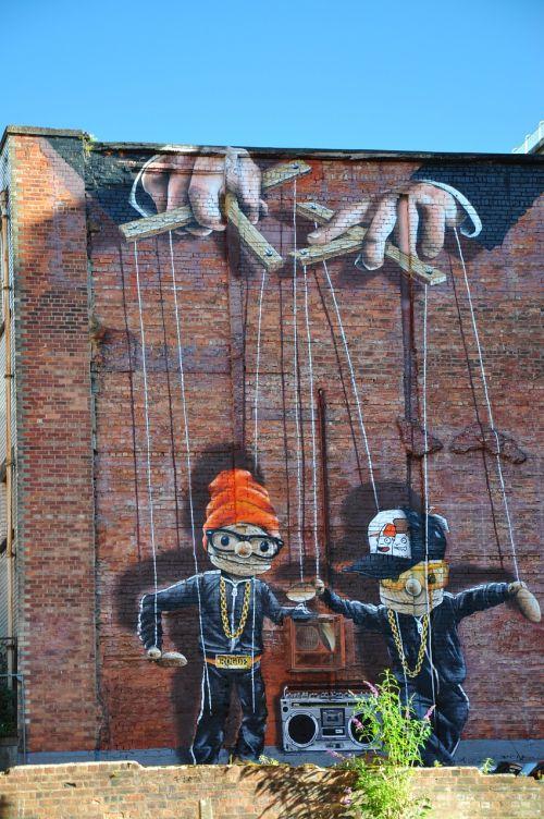 fjeras,grafiti,menas
