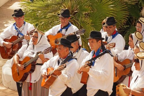 muzika,gitaros,muzikos grupė,liaudies muzika,pramogos,muzikantas,lanzarote,tradicija