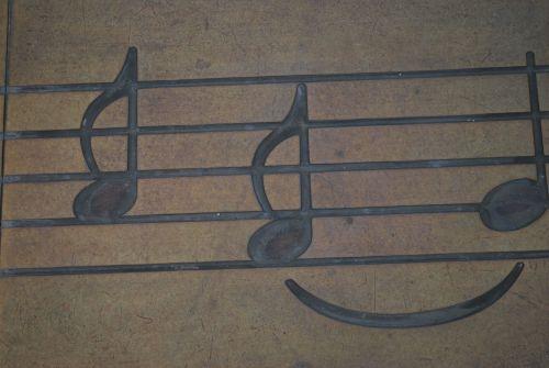 muzika, pastaba, lakštas, simbolis, vaizdas, muzikos pastaba