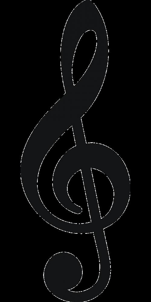 muzikinė pastaba,pastaba,treble,Raktas,muzika,žiniasklaida,vaizdas,nemokama vektorinė grafika
