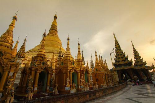 mianmaras,Jangonas,shwedagon pagoda,shwedagon,Jangonas-Mianmaras