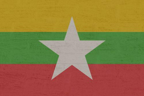mianmaras,vėliava